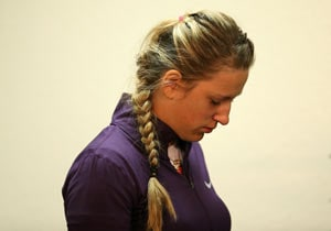 Reigning champion Victoria Azarenka crashes out of China Open