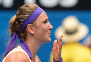 Victoria Azarenka says she is in the zone after another win