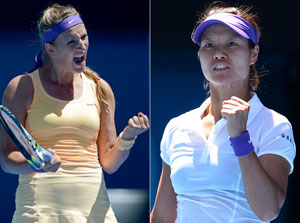 Victoria Azarenka vs Li Na head-to-head record