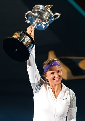 Azarenka stays No.1 after back-to-back Australian Open crown