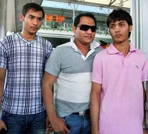 Azharuddin's son critical, nephew dead in bike crash