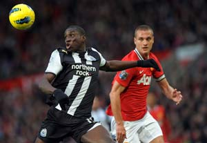 Unlucky Manchester United denied by Newcastle