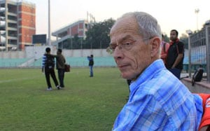 AIFF Technical Director Robert Baan discharged from hospital, leaves for home