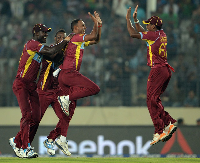 ICC World Twenty20: Samuel Badree, Sunil Narine star as Windies crush Pakistan to enter semis