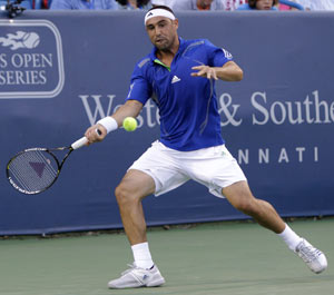 No. 8 seed Baghdatis advances at Winston-Salem