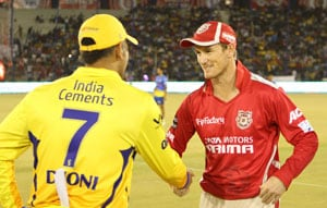 IPL 7: Chennai Super Kings bowl against Kings XI Punjab