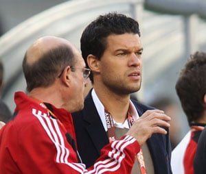 Ballack recovers from latest injury setback