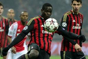 UEFA Champions League: Ten-man AC Milan hold Ajax to goalless draw, book last-16 spot
