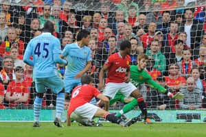 Balotelli sparks fireworks as City hit United for six