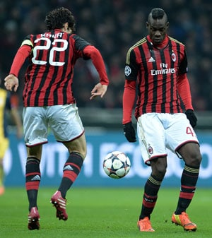 Mario Balotelli sidelined for 10 days due to injury