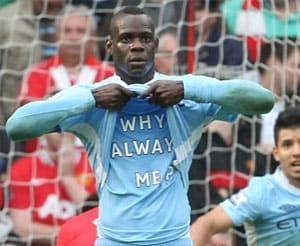 I'm not crazy, says Balotelli