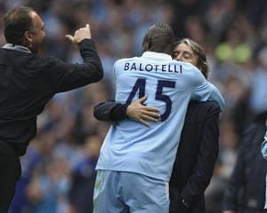 Mancini says he could have punched Balotelli