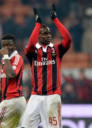 Mario Balotelli suspended for three games - league