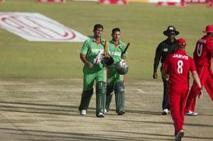 Bangladesh bring Zimbabwe down to earth