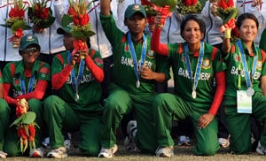 Bangladesh women's team to tour India next month
