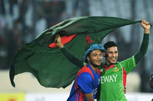 Bangladesh players rally support on the web