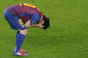Spain bemoans Barcelona loss, Messi miss
