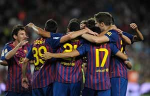 Barcelona face AC Milan, United set Portuguese test