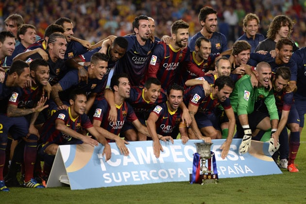 FC Barcelona claim Super Cup on away goals after stalemate against Atletico Madrid