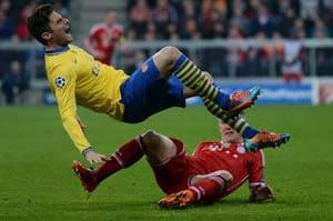 Champions League: FC Bayern Munich draw Arsenal to reach quarters