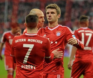 Bayern Munich break 30-year-old Bundesliga record