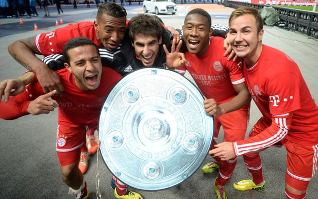 F.C. Bayern Munich claim record Bundesliga title with seven games remaining