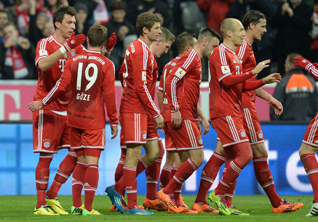 Bayern Munich extend record unbeaten Bundesliga run to 50 matches