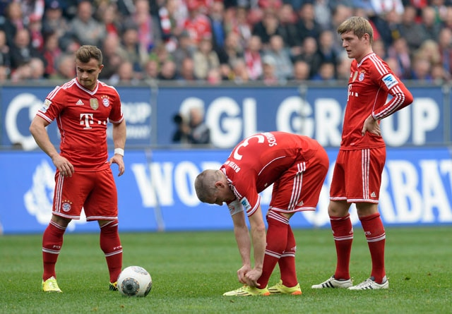 Bayern Munich suffer first Bundesliga defeat in 54 matches