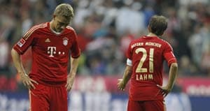 Bayern Munich shocked at home