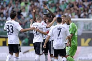 Wolfsburg fume as Bayern win, Dortmund go down