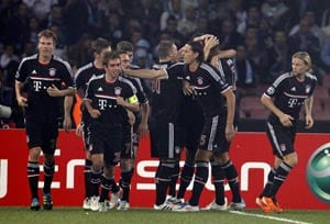 Bayern in control despite draw against Napoli