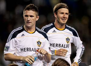 Beckham, Keane lead LA Galaxy to MLS Cup final