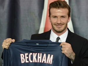 Up to David Beckham to decide his future at club: Paris Saint-Germain