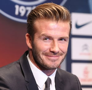 David Beckham is the world's richest footballer with 175 mn pound fortune