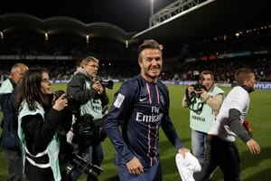 David Beckham becomes first English player to win league in four countries