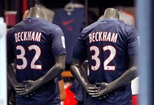 Beckham to start PSG training on Feb 13