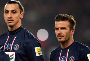 David Beckham shows mettle as PSG beat Marseille 2-0 in French Cup