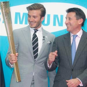 Beckham excited about Olympics, Premier League return unlikely