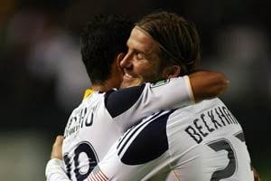 Juninho, Beckham lead Galaxy over FC Dallas