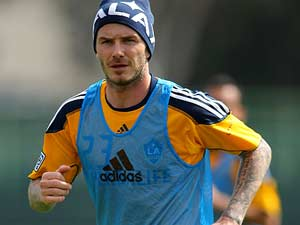 Beckham set to face former club Real Madrid