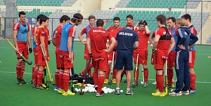 Belgium aim to improve hockey ranking