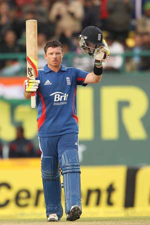 5th ODI, Dharamsala: Ian Bell's ton guides England to a consolation win vs India