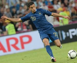 Euro 2012: Ben Arfa and M'Vila get first Euro starts