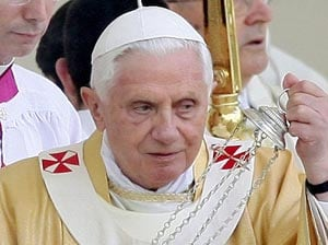 Euro 2012: Pope Benedict graceful in defeat