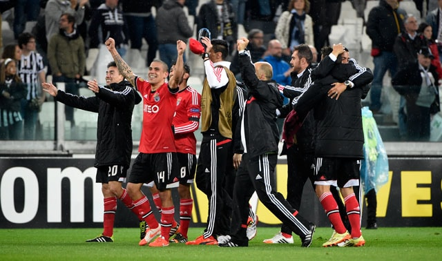 Juventus F.C Ousted by 10-Man Benfica in Europa League Semis