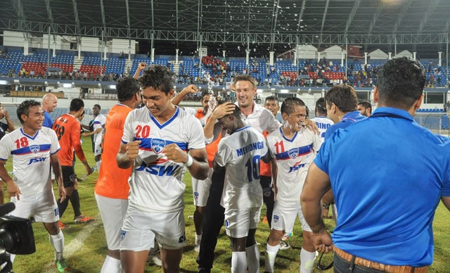 Bengaluru FC crowned champions on I-League debut