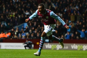 Christian Benteke strikes as Aston Villa beat Reading 1-0