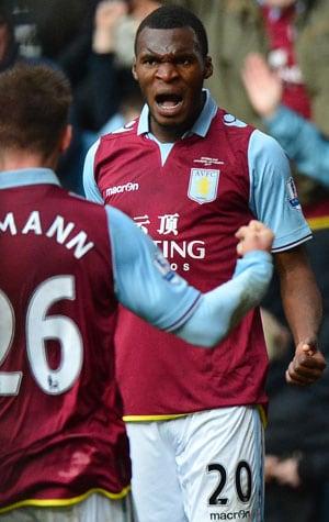 Christian Benteke sinks QPR to boost Aston Villa survival bid