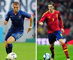 Spain vs France: Previous encounters