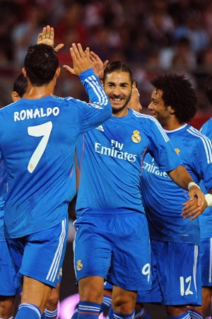 La Liga: Karim Benzema winner helps Real Madrid grind out Granada win